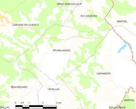 Map commune FR insee code 46227.png