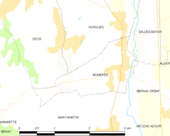 Map commune FR insee code 65313.png