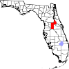 Map of Florida highlighting Lake County.svg