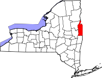 Map of New York highlighting Washington County.svg