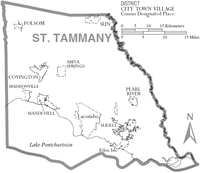 Map of St. Tammany Parish Louisiana With Municipal Labels.PNG