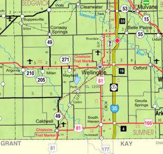 Geuda Springs, Kansas City in Kansas, United States