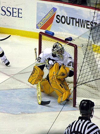 Marc-André Fleury - Marc-Andre Fleury in net in January 2006