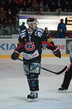 Marc Abplanalp - Fribourg-Gottéron vs. Genève-Servette, 6th March 2010.jpg