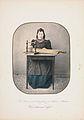 Marcus Selmer En kvinne sitter ved et bord med langleik, Slidre i Valdres.jpg