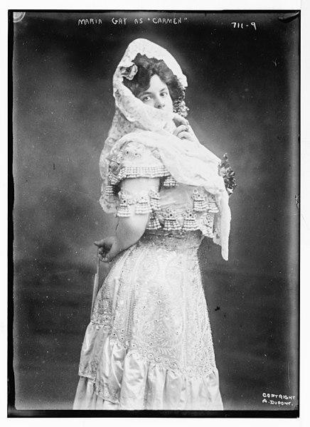 "File:Maria Gay as ""Carmen"", A. Dupont - A. Dupont LCCN2014683421.jpg"