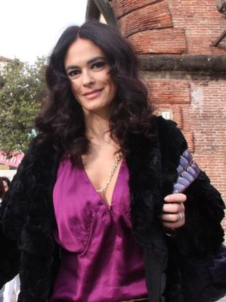 Maria Grazia Cucinotta - actress, film producer, director and Italian model