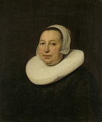 Maria Pietersdr de Leest (d 1652). Wife of Samuel van Lansbergen