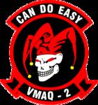 Marine Tactical Electronic Warfare Squadron 2 insignia, 2019.png