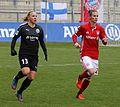 Marith Priessen und Simone Laudehr BL FCB gg. 1. FFC Frankfurt Muenchen-1.jpg
