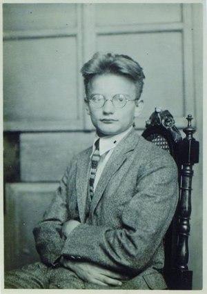 Marjan Kozina - Marjan Kozina in 1923