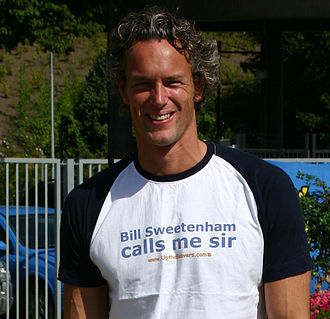 Mark Foster (swimmer) - Foster in 2005