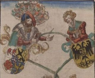 Albert II, Margrave of Meissen Margrave of Meissen, Landgrave of Thuringia and Count Palatine of Saxony