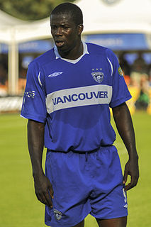 Marlon James (footballer) Saint Vincent and the Grenadines footballer