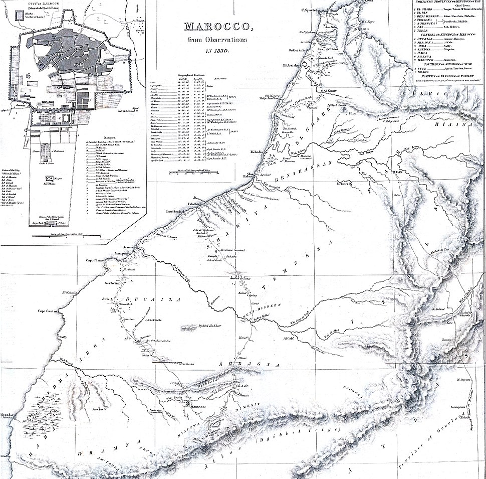 Marocco from observations in 1830