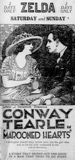 Marooned Hearts - Newspaper advertisement