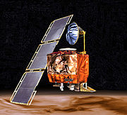 Artist's conception of the Mars Climate Orbiter