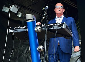 Martyn Ware - Ware performing with Heaven 17 in 2014