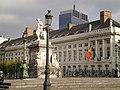 Martyrs' Square - Place des Martyrs - Martelaarsplaats, & Finance Tower; Brussels, Belgium (4039376529).jpg