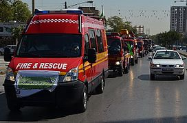 Mashhad Firefighter's Parade 07