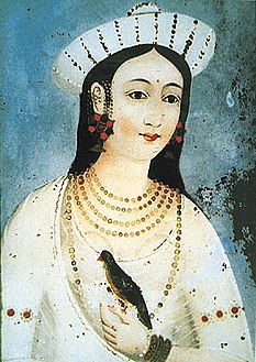 An artist's impression of Mastani