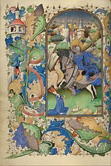 Master of Guillebert de Mets (Flemish, active about 1410 - 1450) - Saint George and the Dragon - Google Art Project.jpg