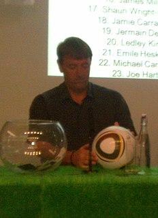 Matt Le Tissier English association football player and television pundit