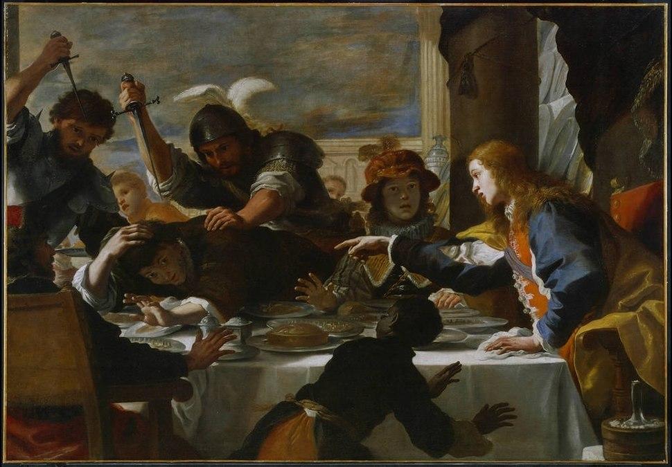 Mattia Preti - La Festa di Assalonne