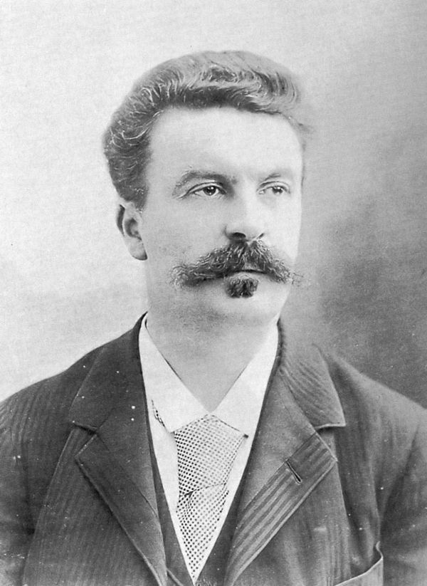 Photo Guy de Maupassant via Wikidata