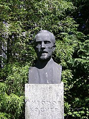 bust Theodor Kocher by Fueter