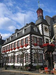 Mayen Place in Rhineland-Palatinate, Germany