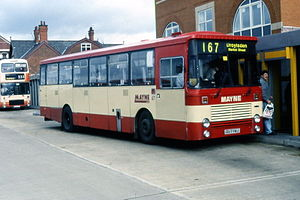 Marshall Bus - Mayne Coaches Camair 80 bodied Dennis Falcon
