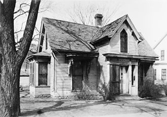 Dr. William W. Mayo House - The home in 1934.