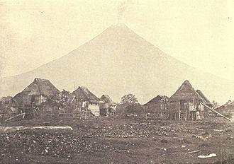 Legazpi, Albay - Mayon Volcano in 1899