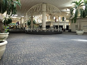 McAlister Square - Interior view of McAlister Square, October 2014