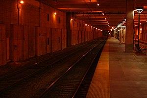 McCormick Place station - Image: Mc Cormick Place Metra