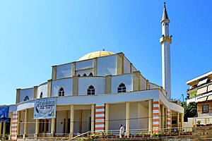 Islam in Albania (1913–1944) - Great Mosque of Durrës, (built 1931).