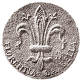 Medal. Theodore Zalkalne in Florence. K. Baumanis. Reverse.png