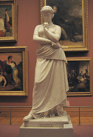 William Wetmore Story - Medea, 1865, this version 1868 (Metropolitan Museum of Art)