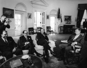 Zulfikar Ali Bhutto - Meeting between Zulfiqar Ali Bhutto and John F. Kennedy.