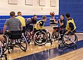 Members of Team Navy participate in the Navy Wounded Warrior Walter Reed Adaptive Sports training camp. (35154949931).jpg