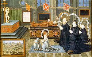 Matthew Stewart, 4th Earl of Lennox - Matthew Stewart, his wife Margaret, their son Charles and grandson James mourn their son Henry