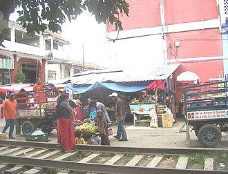 Tehuantepec District - Image: Mercado de Tehuantepec