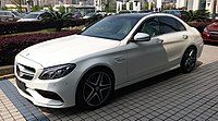 Mercedes-Benz C-Class W205 63 AMG 01 China 2016-04-04.jpg