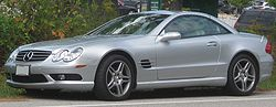 2003–2006 Mercedes-Benz SL 500 (US)