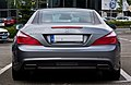 Mercedes-Benz SL 500 BlueEFFICIENCY Sport-Paket AMG (R 231) – Heckansicht (1), 8. August 2012, Velbert.jpg