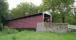 Mercer's Mill Covered Bridge