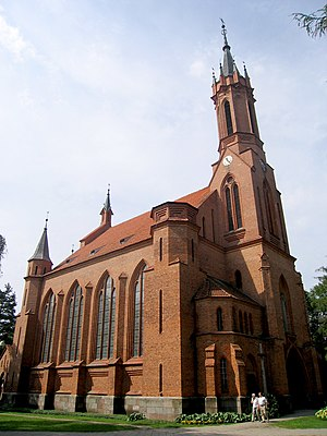 Druskininkai - Saint Mary's Church, Druskininkai