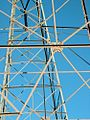 Metal bars of transformer tower los angeles california.jpg