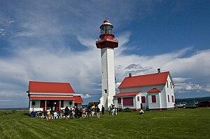 Métis-sur-Mer, Quebec - Image: Metis Lighthouse 2009